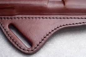 cross draw leather holster