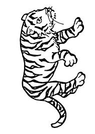 Kleurplaten Baby Tijgers Zebra Malvorlage Zum Ausdrucken Und