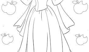 Principesse Disney Da Colorare Biancaneve Disegni Da Colorare