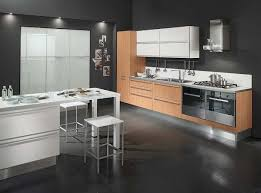 Modern Kitchen Tile Flooring Stunning Clean Lines Kitchen Decorating Interior Ideas Two Accent