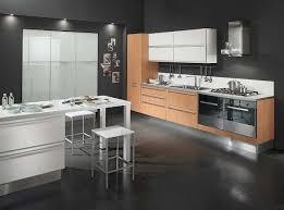 Modern Kitchen Tile Flooring Stunning Clean Lines Kitchen Decorating Interior Ideas Two Accent