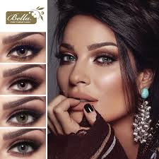 Crystal Light Blue Contacts Bella Elite Collection Bella Lenses Colors Eyewa Uae