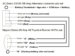 similiar gm cs130 alternator wiring diagram keywords four runner wiring diagram wiring diagram schematic