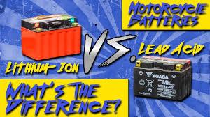 Lithium Ion Vs Lead Acid Motorcycle Batteries Sportbiketrackgear Com