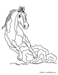 Small Picture Relaxing horse coloring pages Hellokidscom