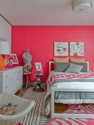 Image Combination Cool Whites With An Accent Wall In Bright Eros Pink Sw 6860 Make Sweet Bedroom Colorscoral Pinterest 80 Best Think Pink Pink Paint Colors Images Pink Paint Colors