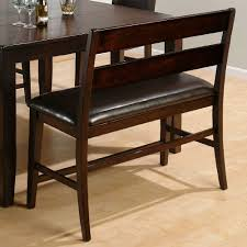 Dark Rustic Prairie Counter Height Dining Bench 972 Bs20kd Decor South