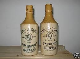two different Felix Quinn Halifax Nova Scotia bottles | #45528552