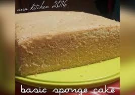 Resep Basic Sponge Cake Gak Bantet Lembut Kaya