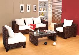 Living Room Wicker Furniture Wicker Living Room Chairs Fun Home Sogden