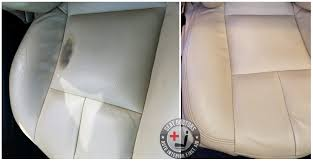 some wear along with a little bit of damaged leather was repaired using new leather dye