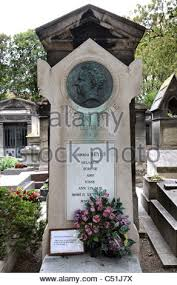 stendhal marie henri beyle french writer stock photo royalty  the grave of french writer marie henri beyle better known as stendhal 1783