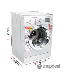 Front Load Washer Dimensions Ifb 65 Kg Senorita Aqua Sx Fully Automatic Front Load Washing