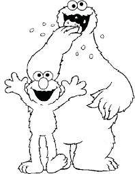 Sesame Street Printable Coloring Pages Fashionadvisorinfo