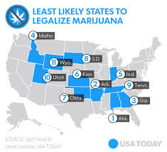 which states has legalized weed