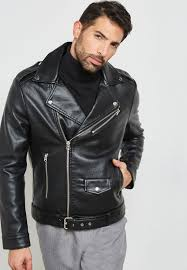 topman black faux leather oversized biker jacket 64l00rblk for men in kuwait to857at19wwm
