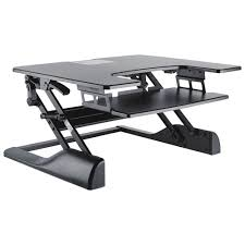 contemporary sit stand desktop