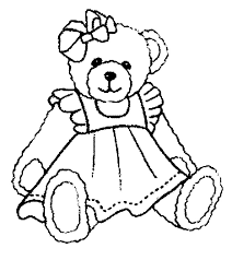 Small Picture Teddy Bear Coloring Pages 224 Coloring Page