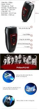 Máy cạo râu điện Philips PQ182