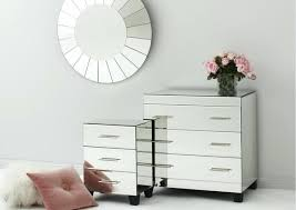 Vegas white glass mirrored bedside tables Tables Dresser Mirrored T4modernhomes Mirrored Bedside Furniture Mirrored Bedside Tables Pottery Barn