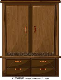 wardrobe clipart. Exellent Wardrobe Clipart  A Wardrobe Fotosearch Search Clip Art Illustration Murals  Drawings And On Wardrobe