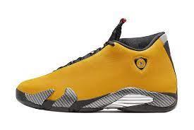 Jordan 14 Ferrari Yellow For Sale Online