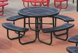 46 round picnic table round plastic picnic table