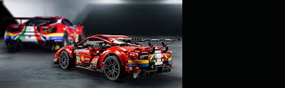 This is the first ferrari based set to be rated 18+. Lego 42125 Technic Ferrari 488 Gte Af Corse 51 Super Sports Car Exclusive Collectible Model Collectors Set For Adults Buy Online At Best Price In Uae Amazon Ae