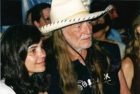 Photo of Willie Nelson & his  Daughter  Susie Nelson