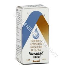 nevanac eye drop at best