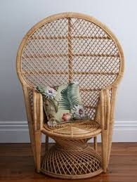 Small Picture Natural Moon Chair I thatchandhutchconz I Home Decor I Rattan