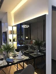Gương ghép tường đèn led nghệ thuật bàn ăn phòng khách Đà Nẵng | Gương, Trang  trí nhà cửa, Trang trí