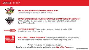 Prior to its release, the firm was in a dire situation, as the wii u had flopped, leaving it clawing for market share in the console world. Nintendo Direct E3 2019 Time Booth Plans And Announcements Tweaktown