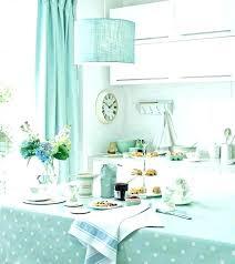 aqua kitchen curtains blue image color