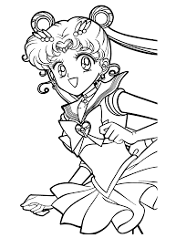 Small Picture Free Printable Sailor Moon Coloring Pages For Kids