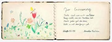 Poesiealbum 50er