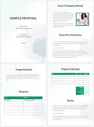 Free Business Templates Free Business Proposal Templates That Win Deals
