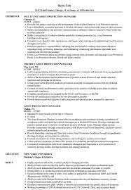 Asset Protection Manager Resume Samples Velvet Jobs
