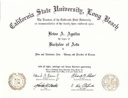 Degree Certificate Online English Teacher