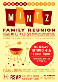 37 Best Family Reunion Invitation Images Family Reunion