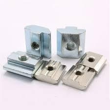 5pcs 10pcs 50pcs T Sliding <b>Nut</b> Zinc or Nickel plated <b>Carbon Steel</b> ...