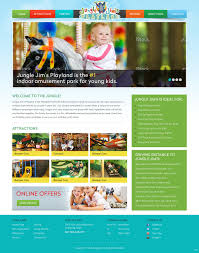 Provo Web Design Entertainment Web Design For Jungle Jims Playland By Pb