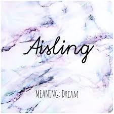 <b>AISLING</b> #Names #<b>Aisling</b> #BabyNames | Names with meaning ...