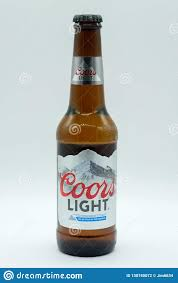 Coors Light Prices Uk Bottle Of Coors Light Lager Beer In Recyclable Glass Bottle