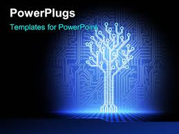 Powerpoint Circuit Theme Electronics Powerpoint Templates W Electronics Themed