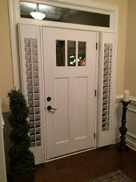 front door sidelight blindsNeed a little privacy for your front door sidelight windows We