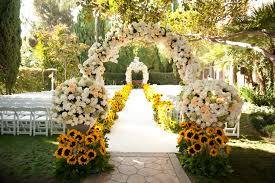 Wedding Ceremony Decorations Wedding Decor Outside Wedding Decorations With Bold Colors
