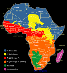 spoken languages of african countries nations online project small african languages map