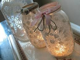How To Decorate A Jar Mason Jars for Wedding Decorations Rustic Beautiful Cheap 53