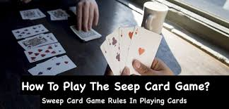 sweep card game rules in playing cards